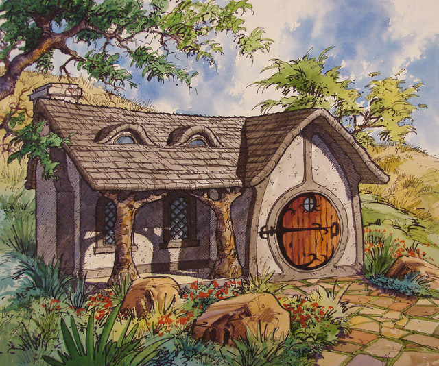 Hobbit House Shed: By Highland Group