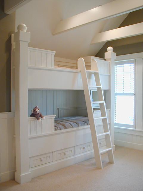 Holland cottage bunk room traditional-kids