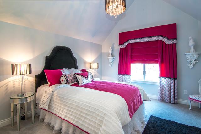 extraordinary hollywood glam purple bedroom | Hollywood Glam bedroom suite - Contemporary - Kids ...