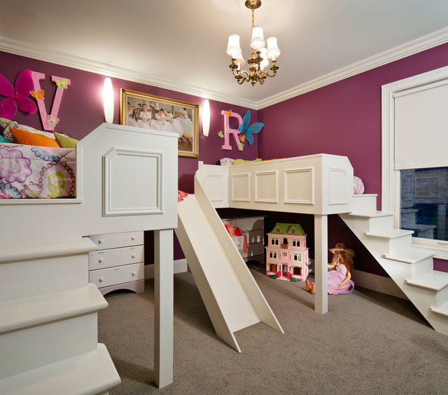 Hollywood Regency Residence transitional-kids