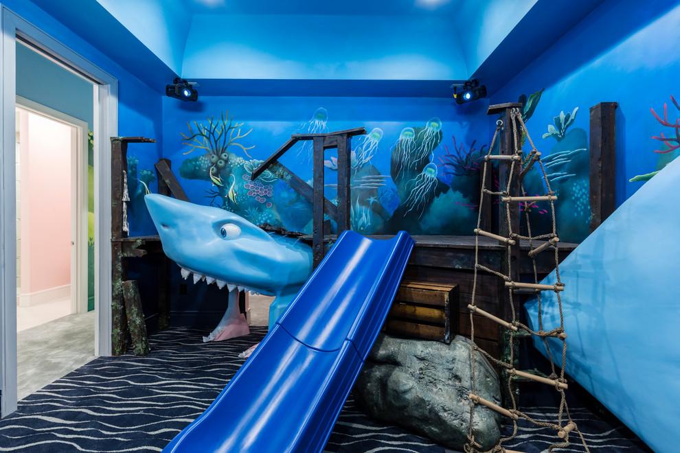 Kids' room - contemporary kids' room idea in Orlando