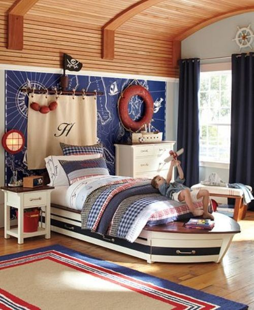Eclectic kids' room photo in New York