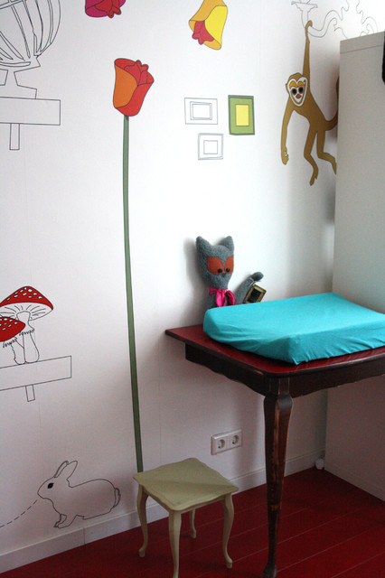 Eclectic kids' room photo in Amsterdam