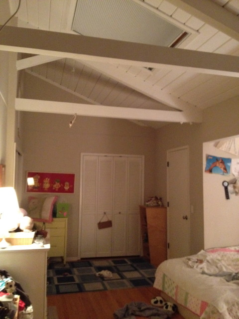 How To Divide Large Bedroom with Barn Doors but different ...