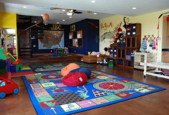 Huge Playroom eclectic-kids