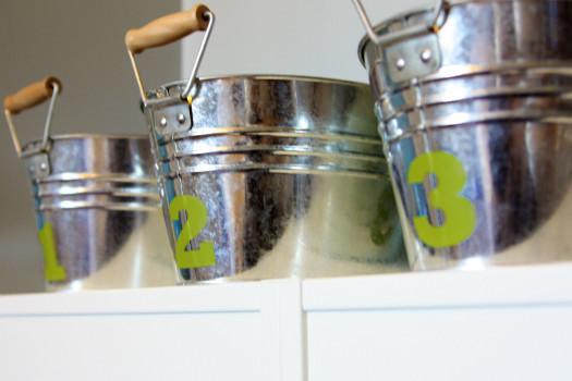 IHeart Organizing: Organizing Legos: Part 1 - Build Buckets modern-kids