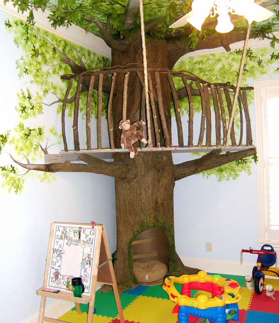 Indoor Treehouse Playroom Idea An Ideabook By Ttruffleheart