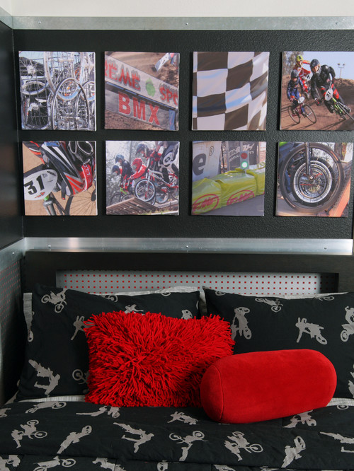 Extreme sports bedroom ideas design dazzle for Dirt bike bedroom ideas