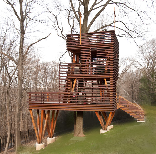 616276 0 8 3499 modern landscape Tree Getaways! HomeSpirations
