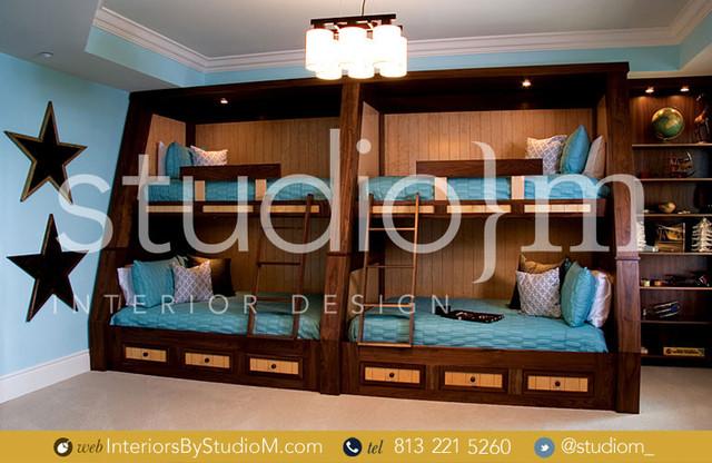 Interior Design Tampa Kid 39 S Bedroom Eclectic Kids Tampa By Studio M Interior Design