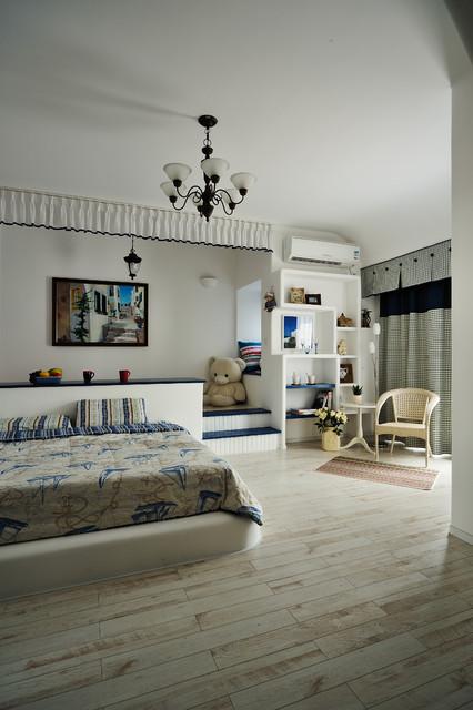 interior design:concise and elegant mediterranean-kids