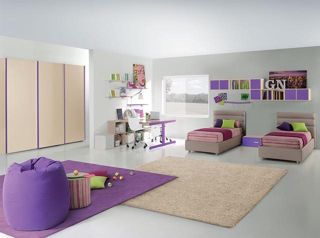 Italian Kids Bedroom Composition VV G007 - Valentini ...