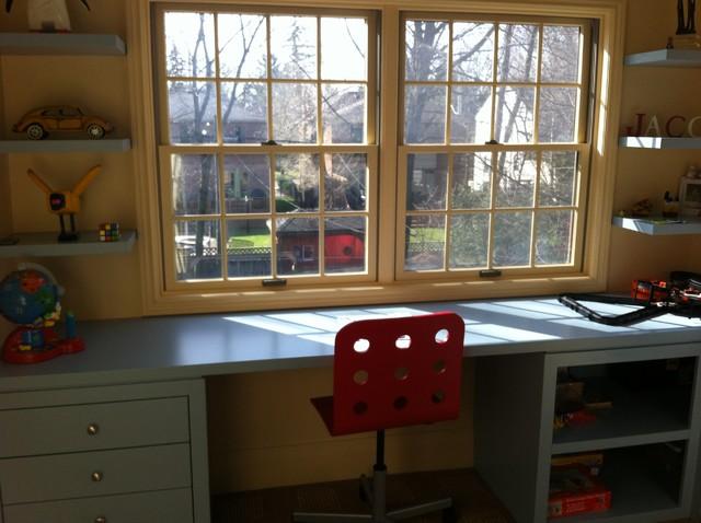 Jacob's Study Area contemporary-kids