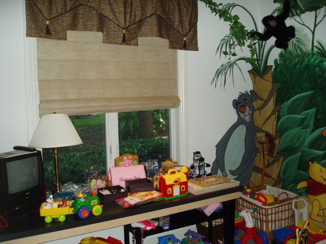 Jungle themed kids room for Jungle theme kids room