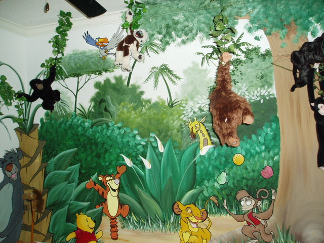 Jungle Themed Kids Room