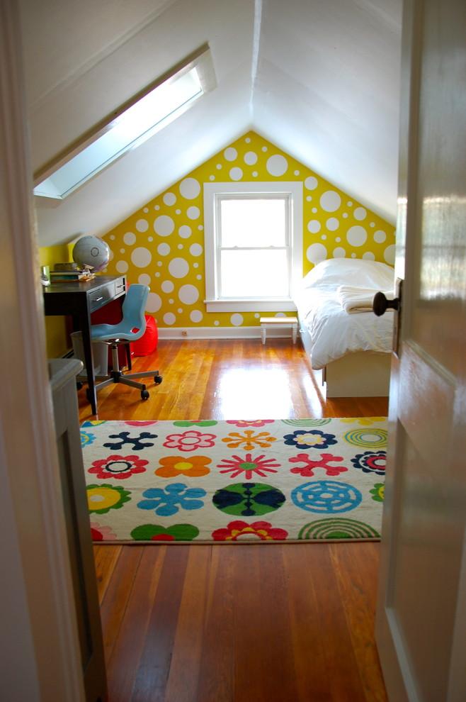 Kids' room - eclectic kids' room idea in New York