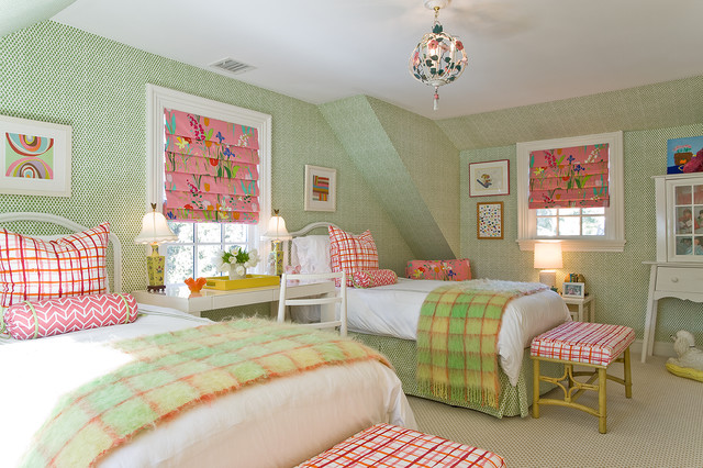 Beau Inspiration For A Timeless Kidsu0027 Room Remodel In Boston With Green Walls