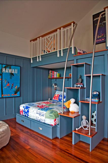 Kauai Living - Kolonialstil - Kinderzimmer - Hawaii - von De Jesus ... | {Kinderzimmer de 4}