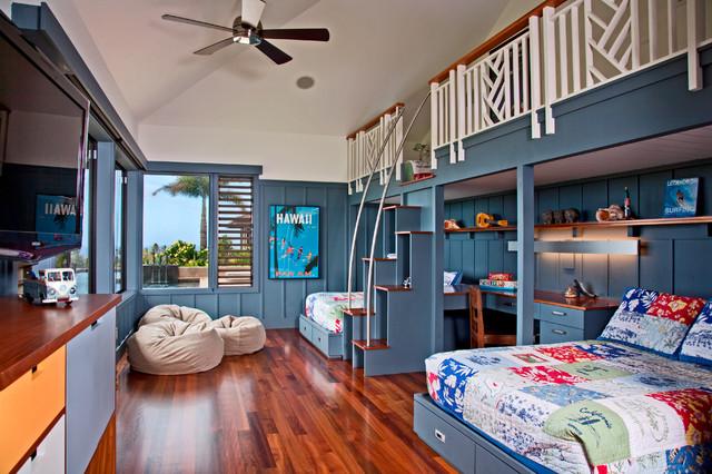 Kauai living tropical kids for Houzz kids room