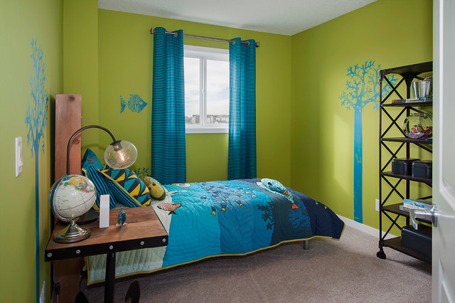 Kendal (Urban) Show Home in Copperfield (SE Calgary) tropical-kids