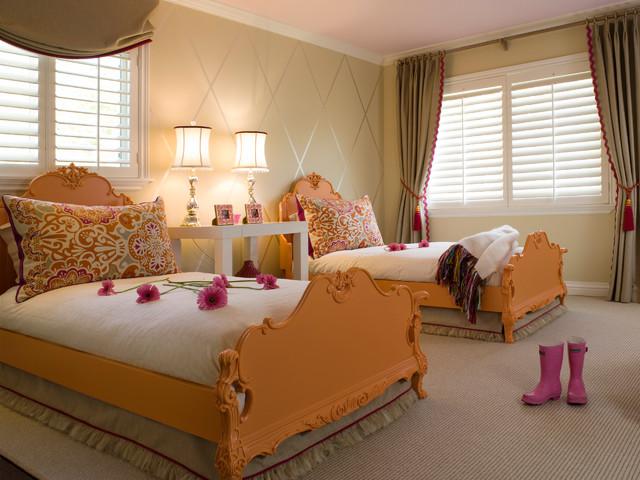 Kentfield Sisters 39 Bedroom Traditional Kids San