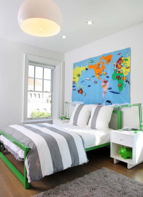 Kenwood 10,000 square foot renovation contemporary-kids