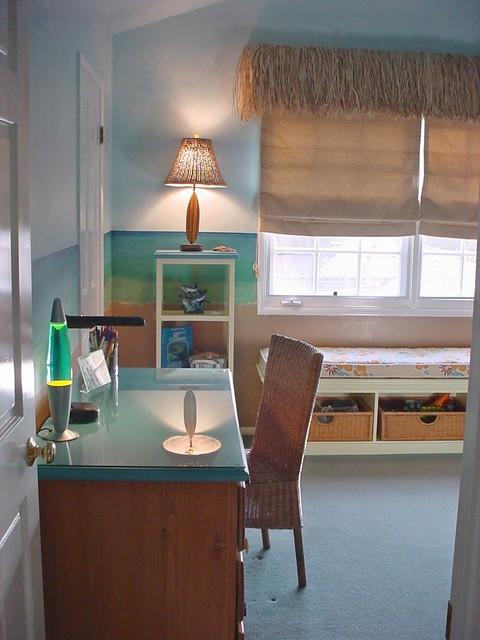 Kid's Beach Room beach-style-kids