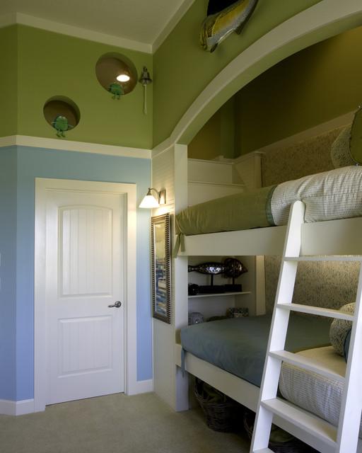 Kids Rooms Eclectic: Kid's Bunk Room