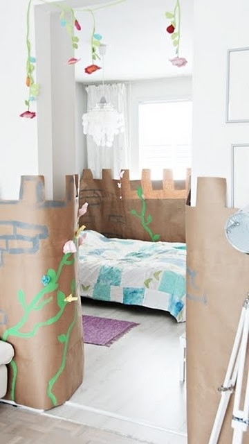 Kid's, Children, Teen, Decorating Themes With Printed Folding Screens eclectic-kids