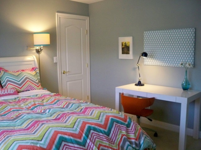 Kid's Room: All Colors in the Rainbow contemporary-kids