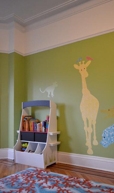 Kid's Room Bookshelf contemporary-kids
