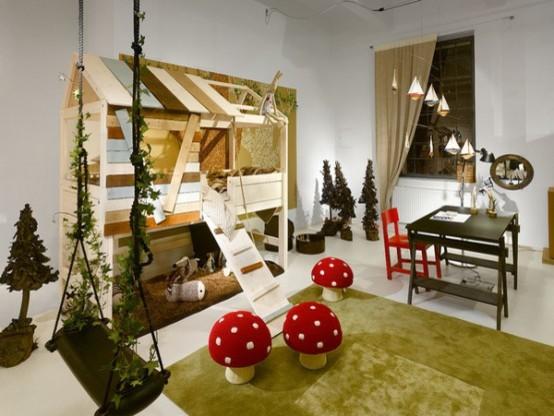 Kid's Room modern-kids