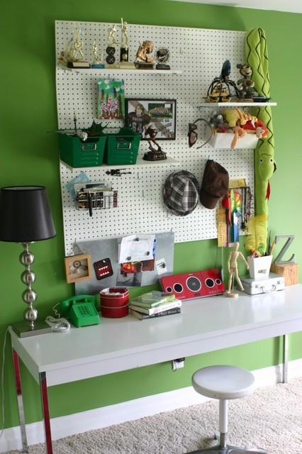 Kid's Workspaces eclectic-kids