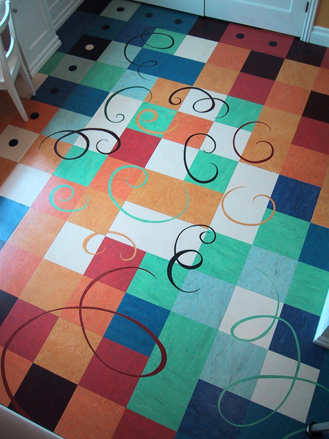 Kids Art Room Floor Modern Los Angeles By Crogan Inlay Floors