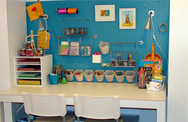Kids Art Studio eclectic kids