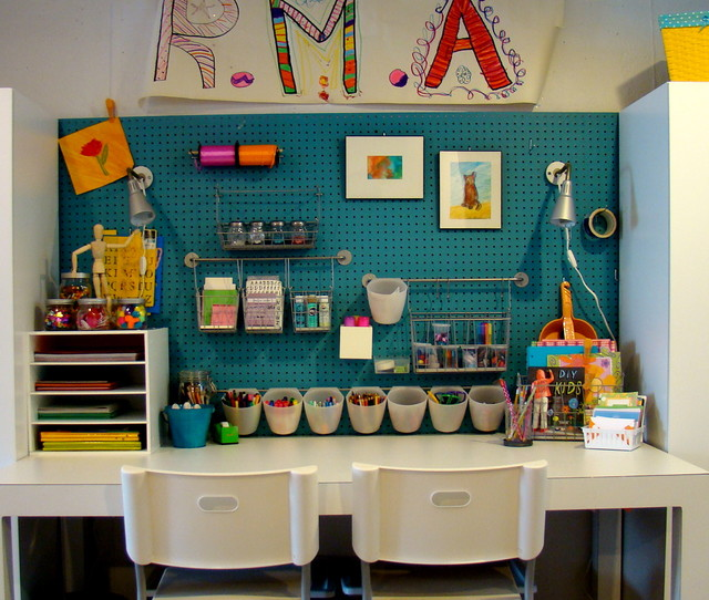 Superb Art Room Design Ideas Part - 8: Kids Art Studio Contemporary-kids