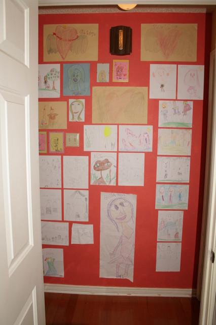 Kids Art Wall traditional kids