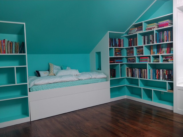 Kids Bedroom And Library