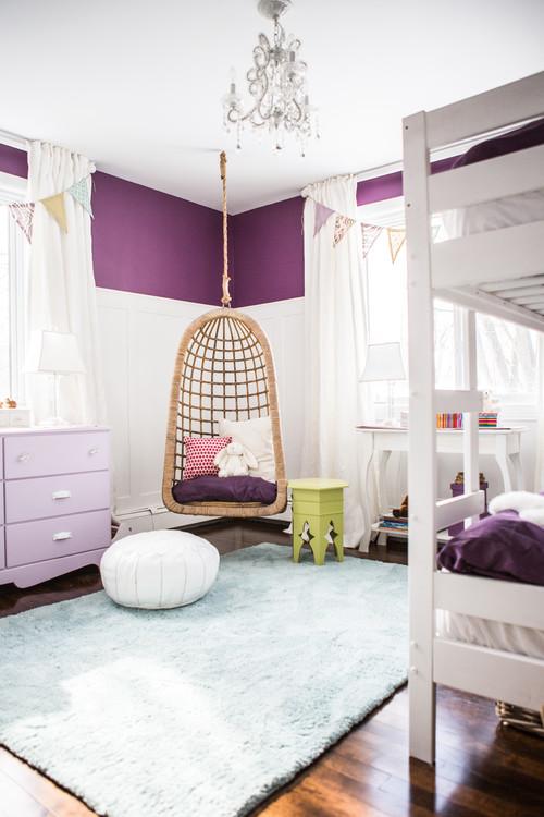 Osez le violet dans les chambres d\'enfant !