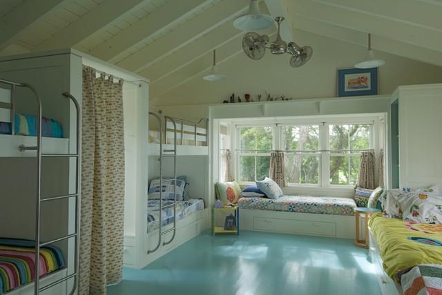 Kids' Bedroom beach-style-kids