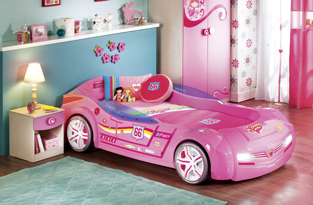 Interior Kids Bedroom For Girls kids car bedroom for girls pretty in pink modern kids