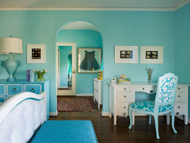 Kids live here too! Designing a room for tweens contemporary-kids