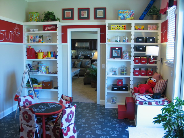 Kids playroom traditional kids