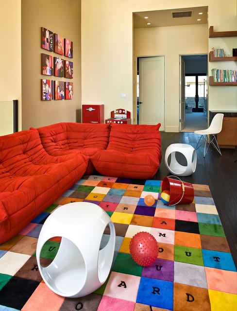 Kids Playroom Contemporary