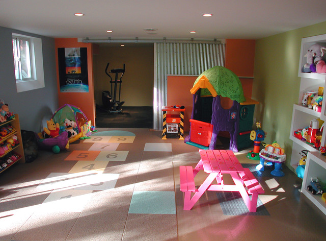 Kids Playroom Contemporary Columbus By Sym Home