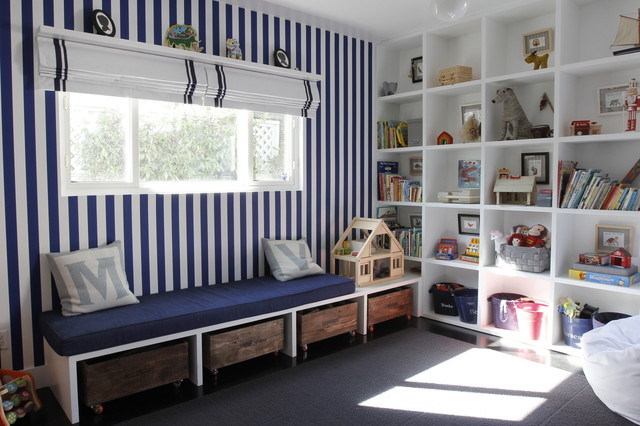 Kids Playroom Transitional