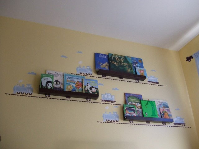 Kids Room Book Shelves modern-kids