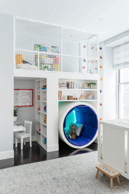 Room Of The Day A Reading Tunnel And Play Loft For Kids