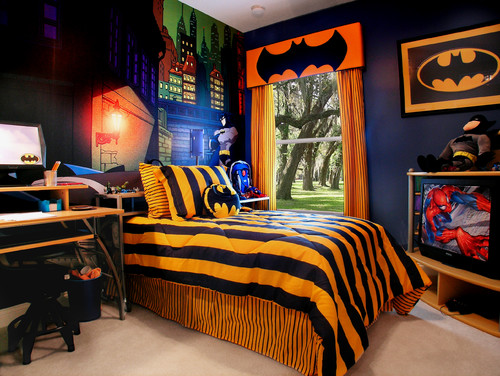 7 super cool super hero themed kids bedrooms - coldwell