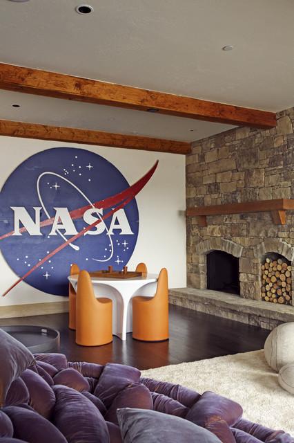 Kids' Space rustic-kids